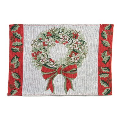 Home Essence Wreath Placemat