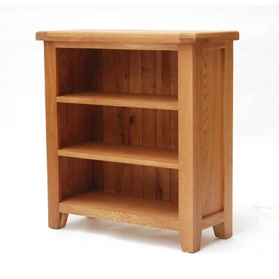 Home Etc Hadleigh Low Wide 90cm Standard Bookcase