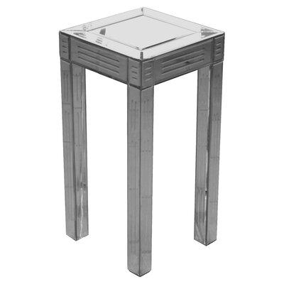 Home Essence Modal Small Mirrored Pedestal