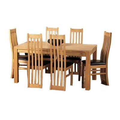 Home Essence Elland Dining Table and 6 Chairs