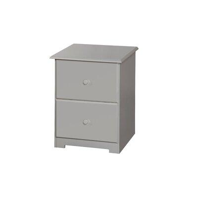 Home Essence Banff 2 Drawer Bedside Table