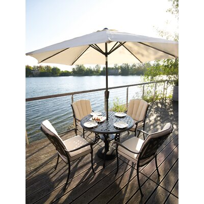 Home Essence Polystone Lattice Parasol Base