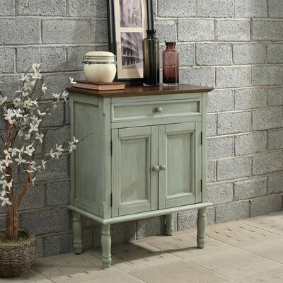 Garrett 2 Door Accent Cabinet Color: Khaki