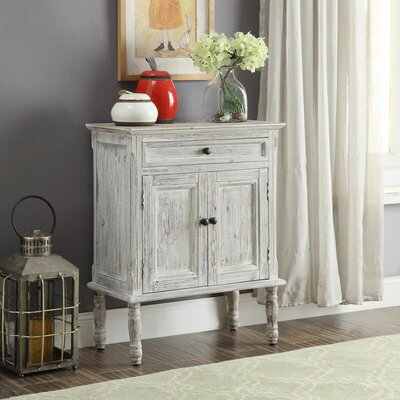 Garrett 2 Door Accent Cabinet Color: White