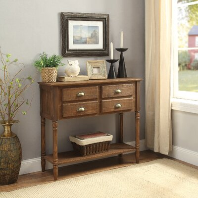 Peyton 4 Drawer Console Table