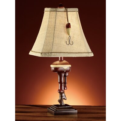 Crestview Collection Outboard 1 Light Accent Table Lamp