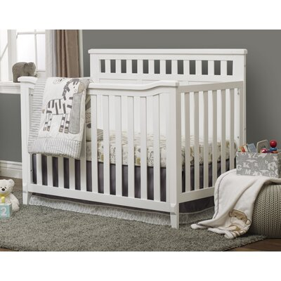 Madrid 4-in-1 Convertible Crib Color: White