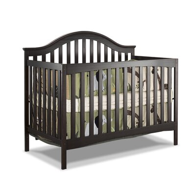 Lynn 3-in-1 Convertible Crib Color: Expresso