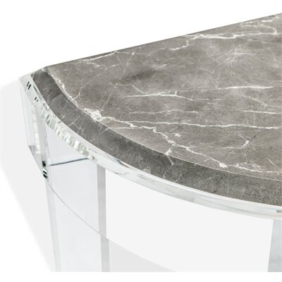 Amal Demilune Console Table