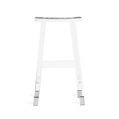 "Reva 31"" Bar Stool Color: Nickel"