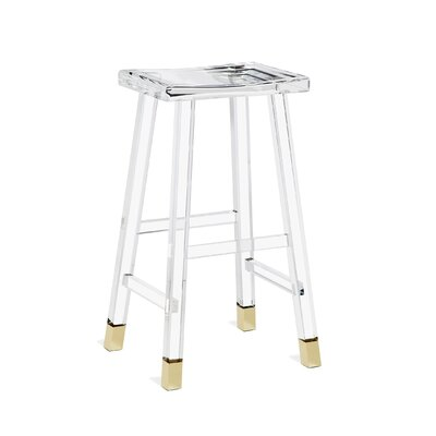 """Reva 31"""" Bar Stool Color: Brass"""