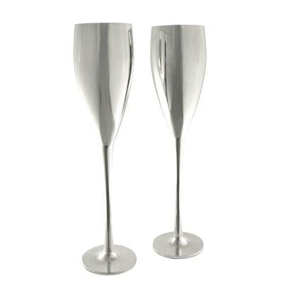 Zilverstad 6 cm Champagnerglas (2er Pack)