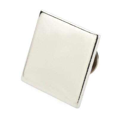 Zilverstad 2cm x 2cm Ansteckpin quadratisch in Silber