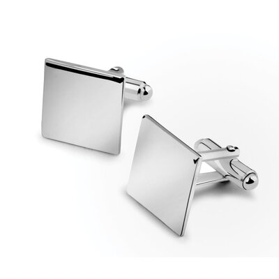 Zilverstad 1,5cm Manschettenknöpfe aus Silber (2er Pack)