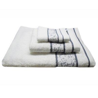 Mosaic 3 Piece 100% Cotton Towel Set