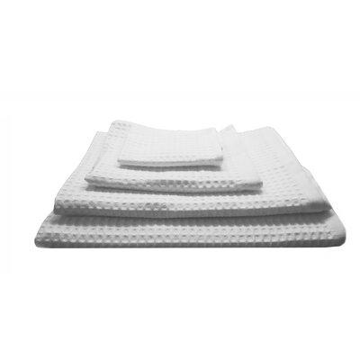 Waffle Refresh 4 Piece 100% Cotton Towel Set