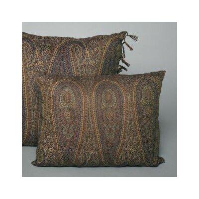 Belle Epoque Little Tear Drop Paisley Decorative Indoor/Outdoor Lumbar Pillow