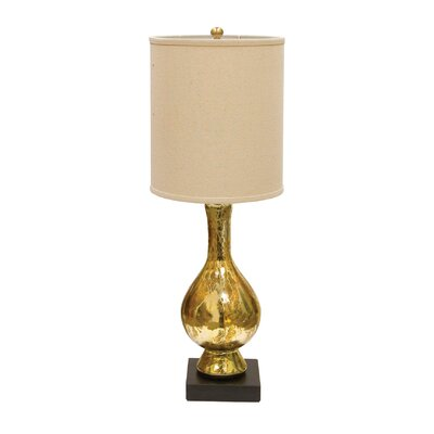 """AF Lighting Aurora 29"""" H Table Lamp with Drum Shade"""