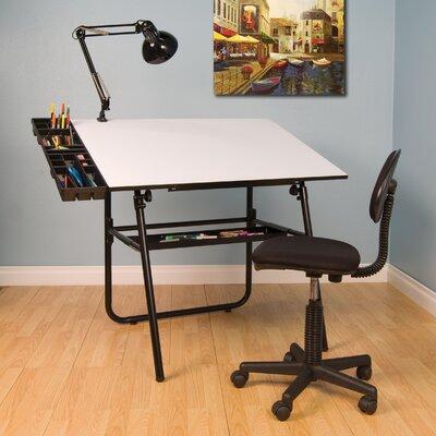 Studio Designs Ultima Four Piece Laminate Drafting Table Set