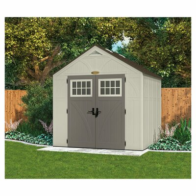 Tremont 8 ft. 5 in. W x 10 ft. 2 in. D Plastic Storage Shed
