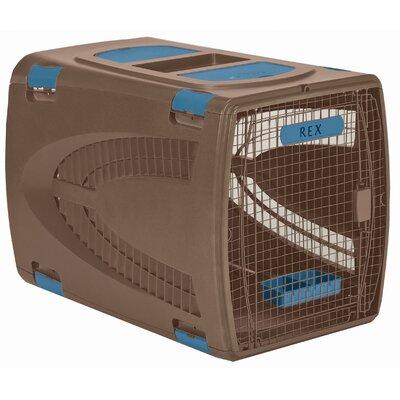 """Square Pet Carrier Size: Large (26"""" H x 23.5"""" W x 36"""" L)"""