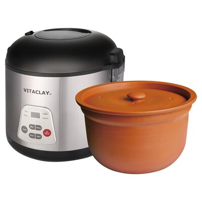 Slow Rice Cooker Size: 6 cups