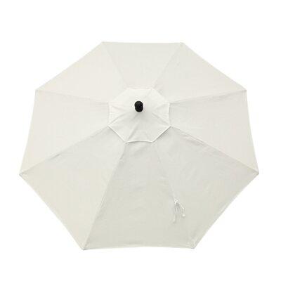 Resort 9' Market Umbrella Fabric: Canvas Natural