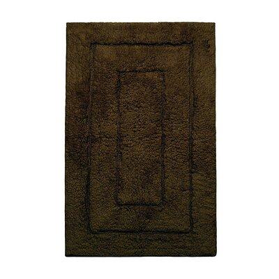 "Kassadesign Bath Rugs Size: 24"" H x 40"" W, Color: Chocolate"