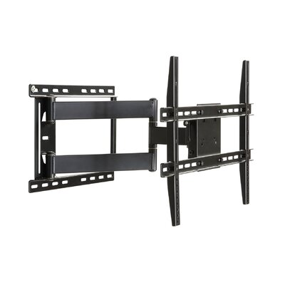 "Large Full Motion Articulating Arm/Swivel/Tilt Wall Mount for 19"" - 80"" Flat Panel Screens in Black"