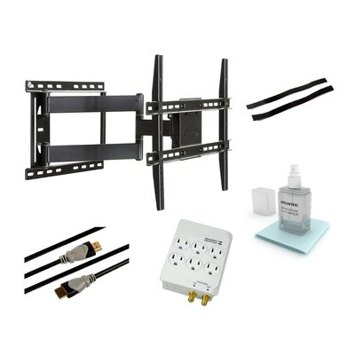 "Articulating Arm/Swivel/Tilt Wall Mount for 37"" - 64"" Flat Panel Screens"