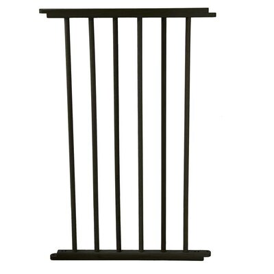 "Versa Hardware Mounted Pet Gate Extension Size: Small (20"" W)"