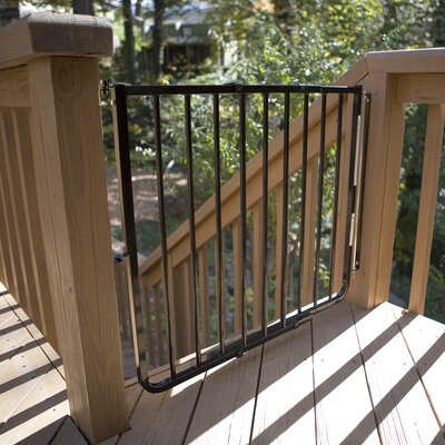 Stairway Special Outdoor Gate Color: Black