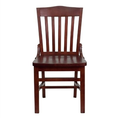 Schoolhouse Side Chair (Set of 2) Finish: Cherry