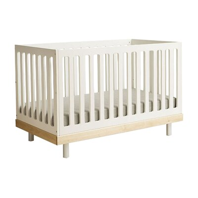 Classic 2-in-1 Convertible Crib Color: Natural Birch