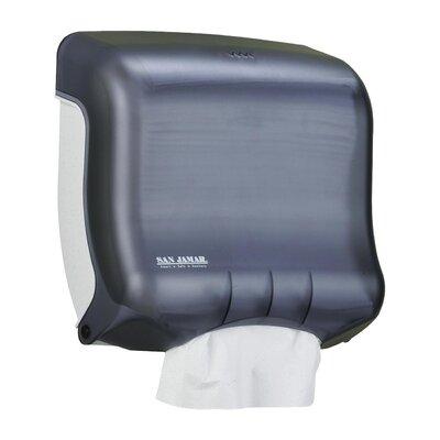 """C-Fold Towel Dispenser, 11-1/2""""x6""""x11-1/2"""", Black/Pearl"""