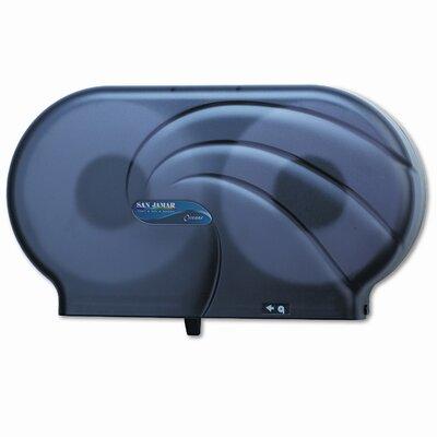 San Jamar Oceans Twin JBT Toilet Tissue Dispenser