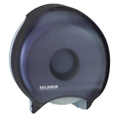 Single Jumbo Toilet Tissue Dispenser in Black Pearl
