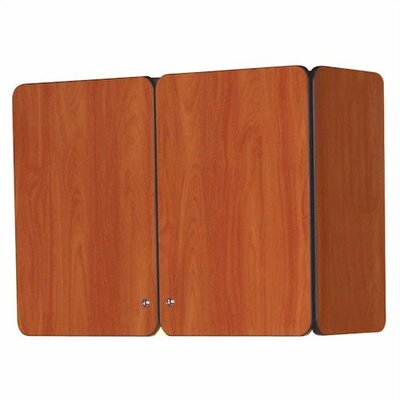 """Fleetwood Illusions 30"""" H x 48"""" W Wall Mounted Cabinet with Doors"""