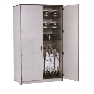 "Fleetwood Harmony 48"" W Folio Storage Cabinet with Three Columns and Optional Doors"