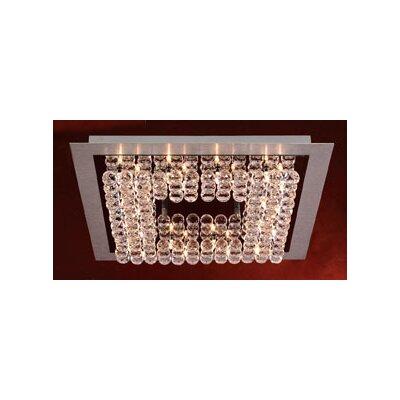 PLC Lighting Petula 24 Light Semi Flush Mount