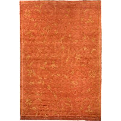 Abbyson Living Oceans of Time Himalayan Sheep Tibetan Orange Indoor/Outdoor Area Rug