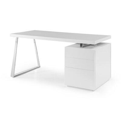 Tesla Desk Color: White