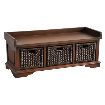 Maryellen Wood Storage Bench