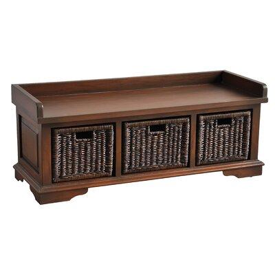 Maryellen Wood Storage Bench