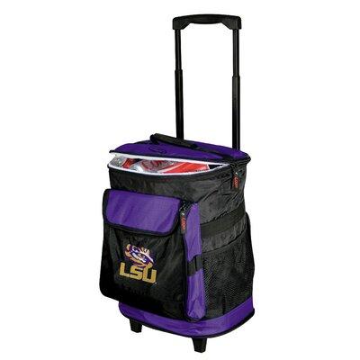 Collegiate Rolling Cooler - LSU