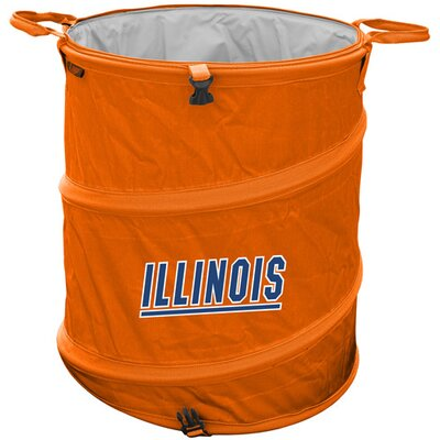 Collegiate Trash Can - Illinois