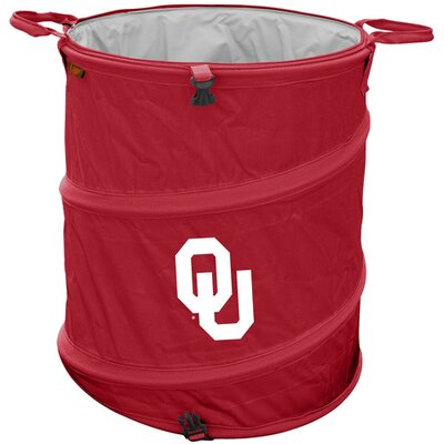 Collegiate Trash Can - Oklahoma