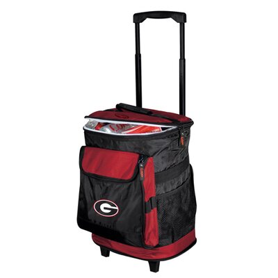 Collegiate Rolling Cooler - Georgia