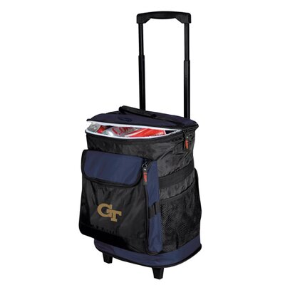 Collegiate Rolling Cooler - Georgia Tech