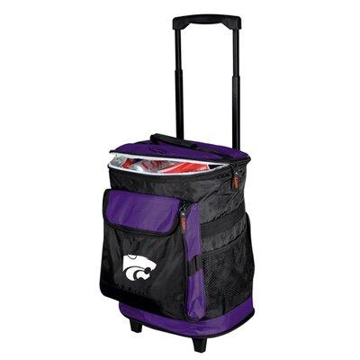 Collegiate Rolling Cooler - Kansas State